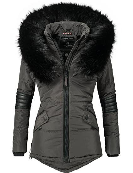 a3e369d7738168 Navahoo Damen Winter Jacke Steppjacke Nirvana (vegan hergestellt) 8 Farben  XS-XXL  Amazon.de  Bekleidung