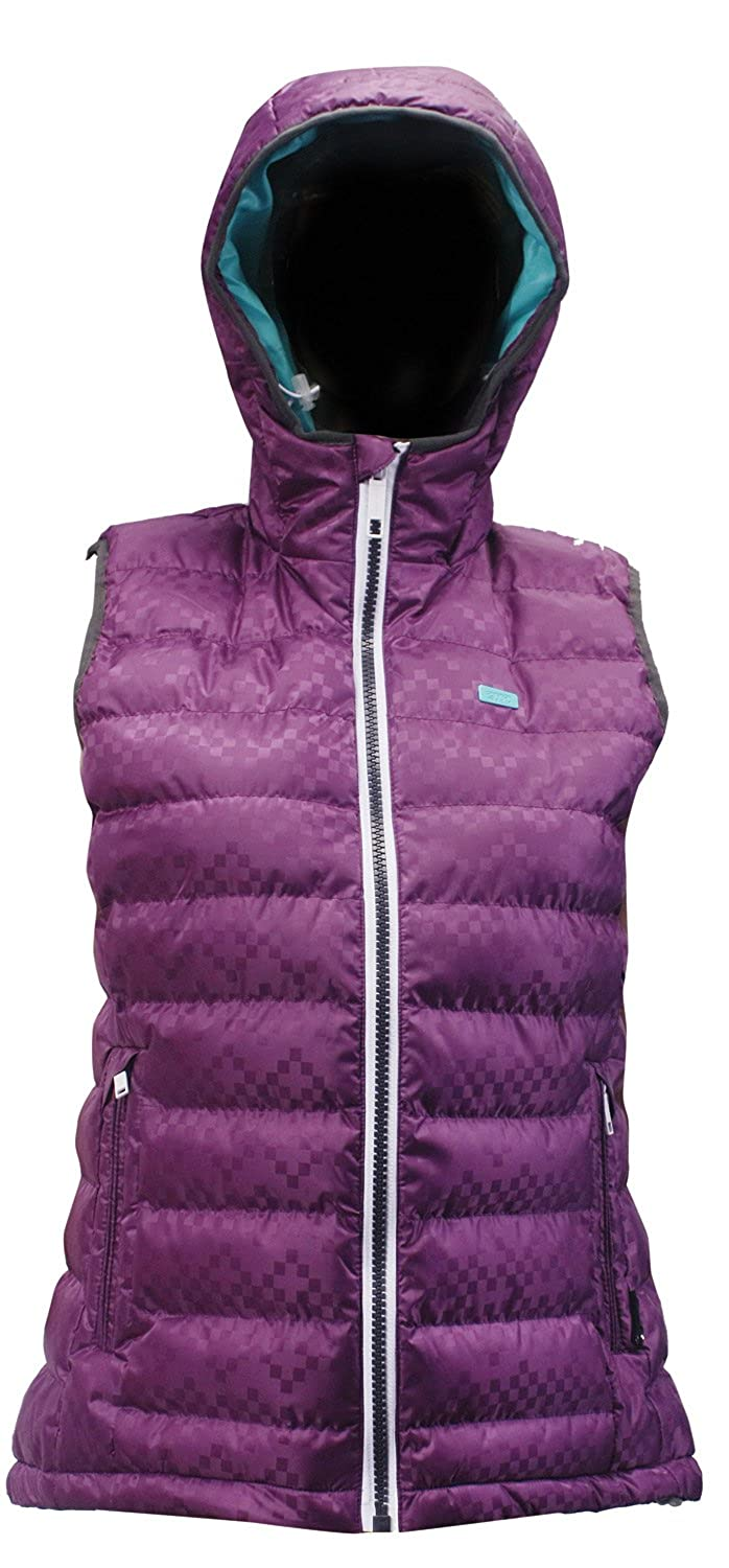 2117 of Sweden Skane Snow Vest Dk-Purple Womens