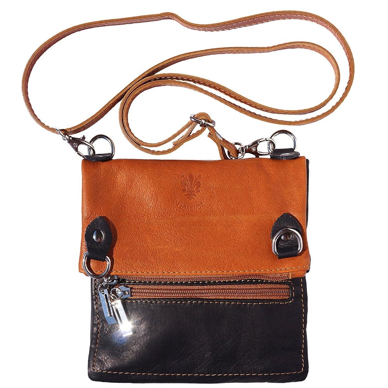 Shoulder Bag in Soft Genuine Leather 408