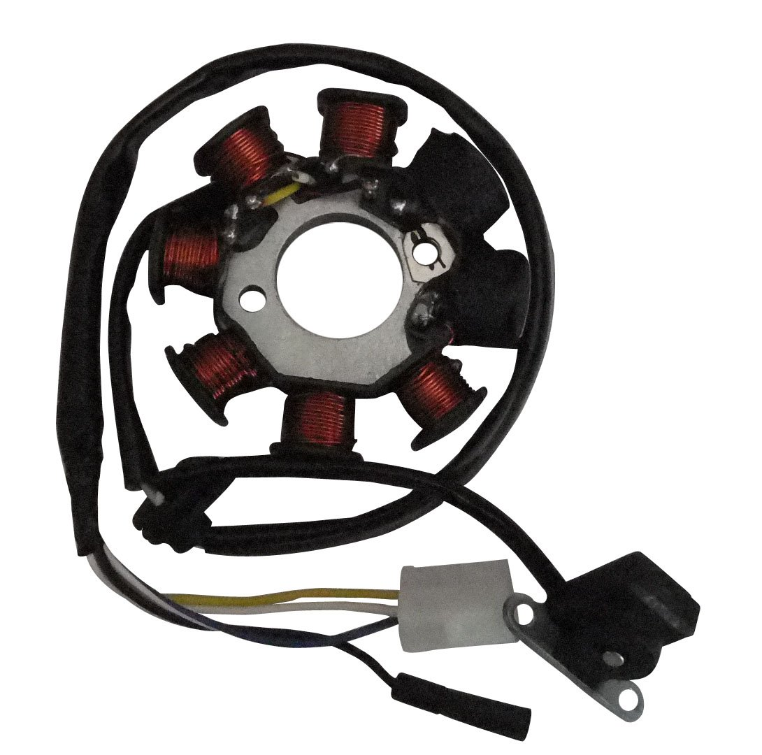 shamofeng Stator Magneto Coil for GY6 Scooter Moped 50cc 125cc 150cc