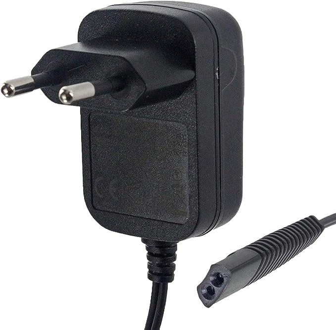 Cargador para afeitadora Braun compatible (6 V) para Braun Serie 1 ...