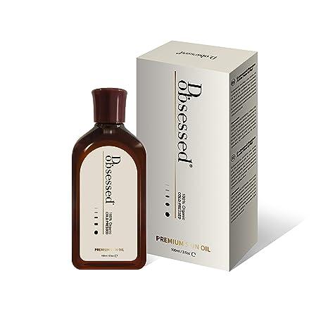 Aceite Premium para la Piel de d.obsessed - Jojoba orgánica, aceite de rosa mosqueta y vitamina E mezclado - Tratamiento natural para rostro, cuerpo ...