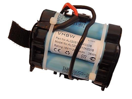 vhbw Batería li-on 2000mAh (18V) para Robot cortacésped, Robot de ...