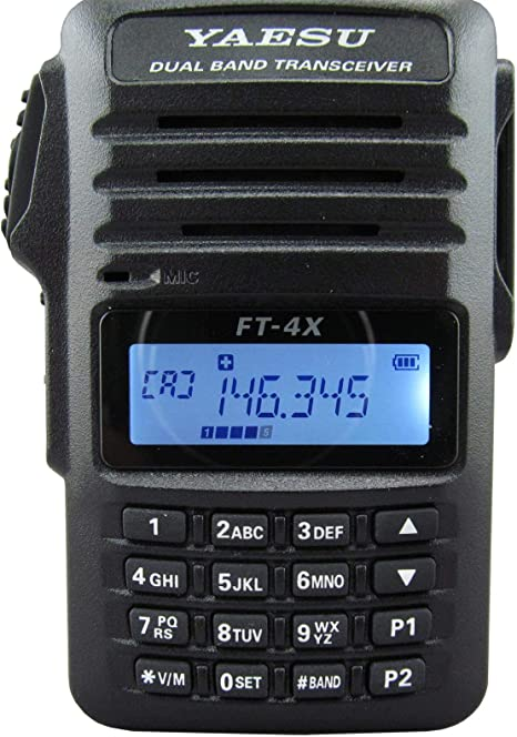 VHF 2 Meter 5W Mono Band FM Handheld Transceiver Yaesu FT-4VR