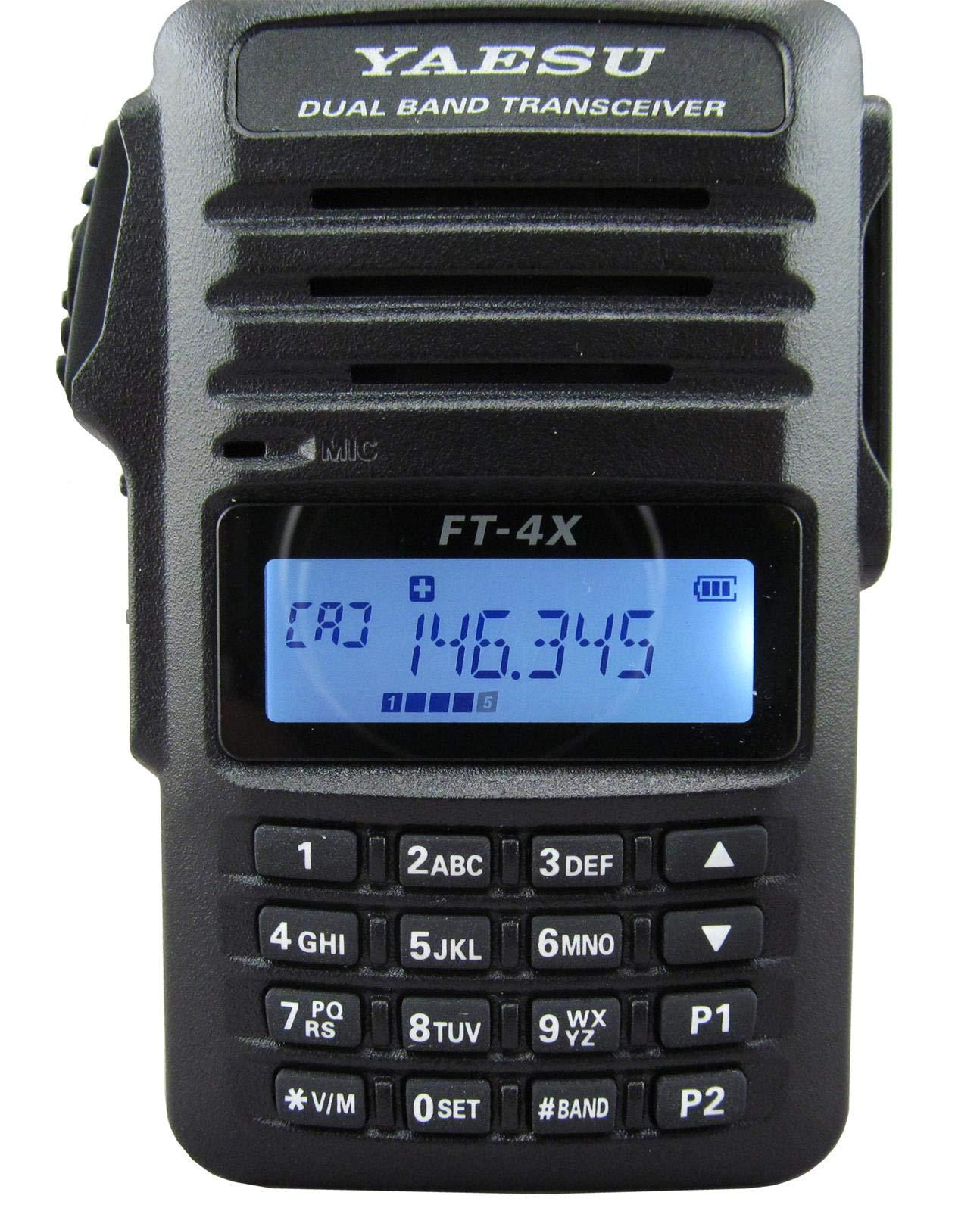 Yaesu Original FT-4V FT-4VR 144 MHz VHF Mono Band FM Hanheld Transceiver by Yaesu