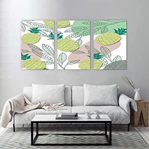 Pineapple-Plant Canvas Frameless Paintings Wall Art Landscape Picture for Home Decor Decoration Gift