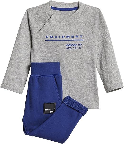 Various sizes! adidas Originals boys blue//grey EQT set