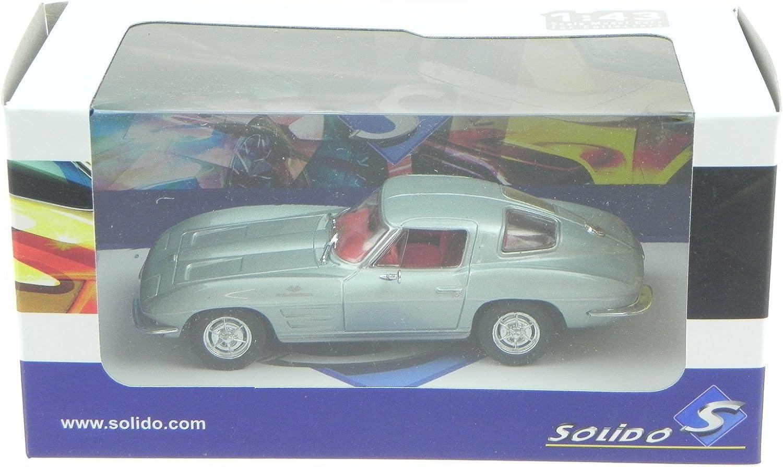 Chevrolet Corvette C2 1963 silber 1:43 Solido neu /& OVP 4400800