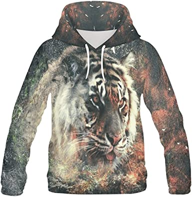 Mens Pullover Hoodie Fleece with Pockets Thats A Horrible Idea What Time