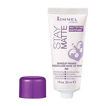 Rimmel Stay Matte Primer, 1 Ounce (1 Count), Makeup Primer, Refines
