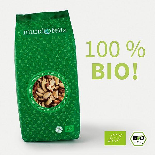 Mundo Feliz - Higos ecológicos secos, 2 bolsas de 500 g ...