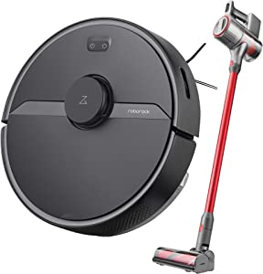S6 Pure Robot Vacuum Cleaner and H6 Cordless Vacuum