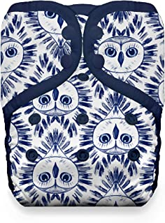 product image for Thirsties Natural One Size Pocket Cloth Diaper, Snap Closure, Night Owl