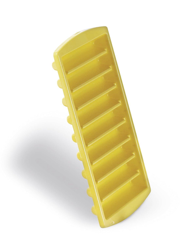Excelsa Zubehör Aufbewahrung Set 2Eiswürfelform, Kunststoff, Gelb/Orange/Rot/Grün, 22x 11x 3cm