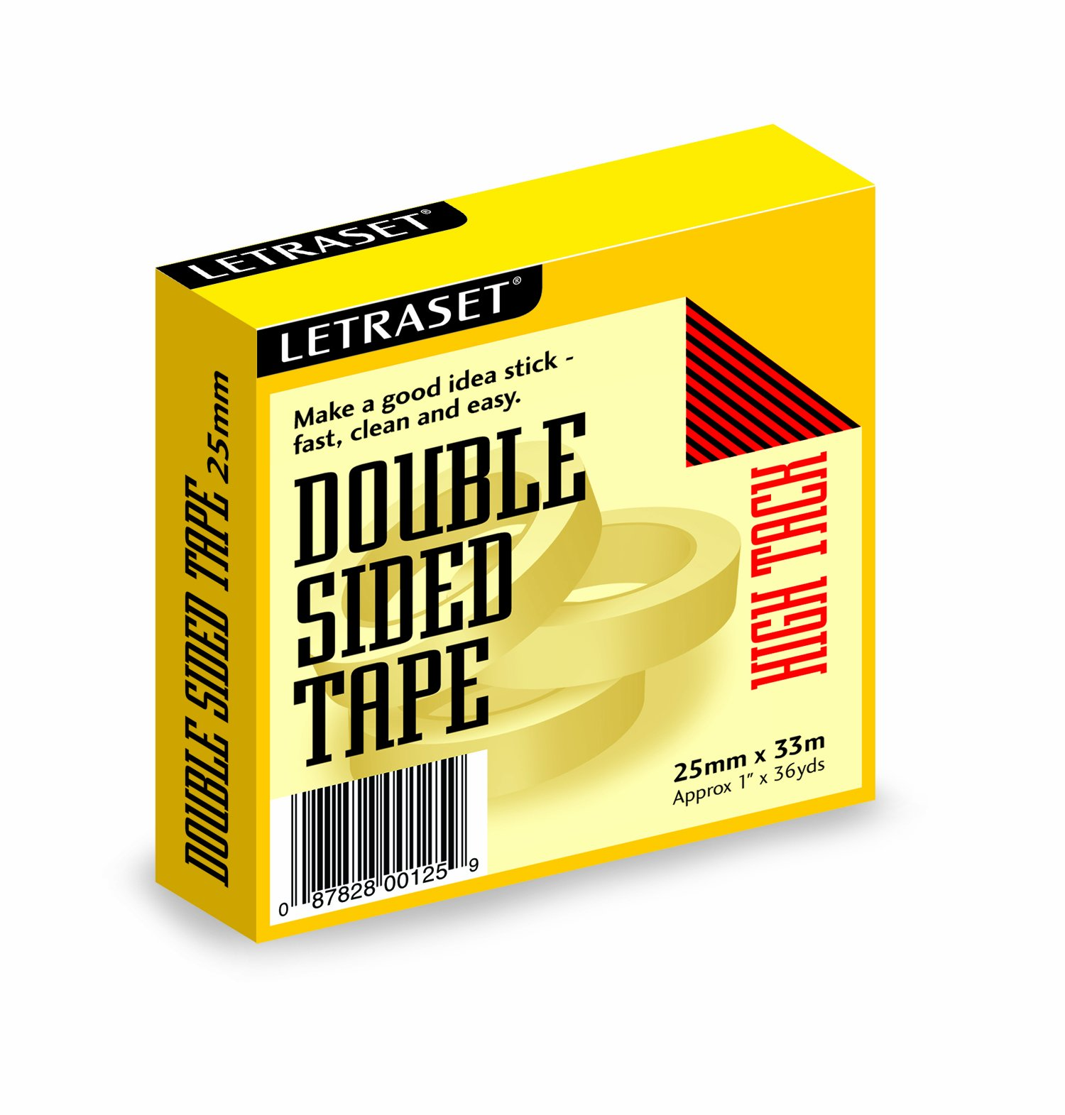 631 Dbl Sd High Tack Tape 1in