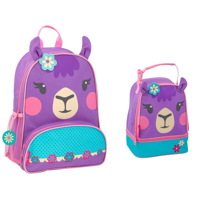 de3f048e01d0 Stephen Joseph Girls Llama Backpack Lunch Pal for Kids and ...