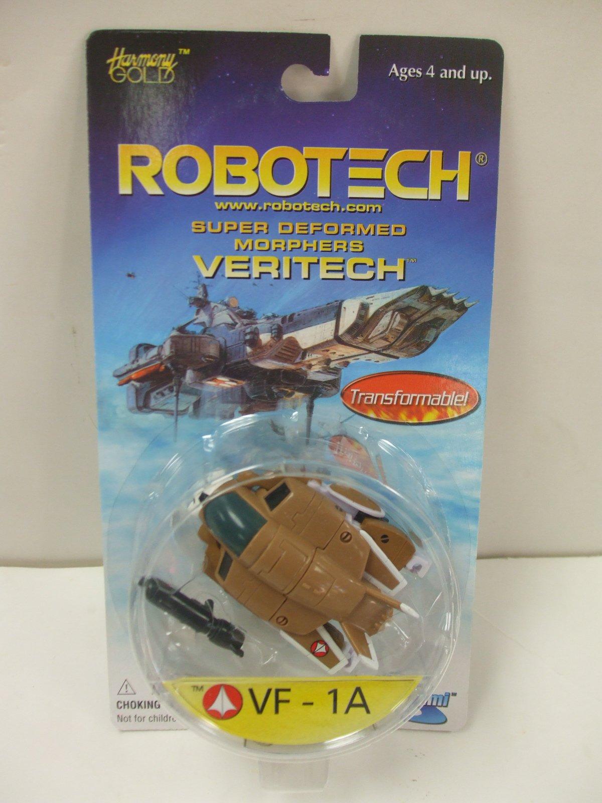 Robotech Super Deformed Morphers Veritech VF-1A Action Figure