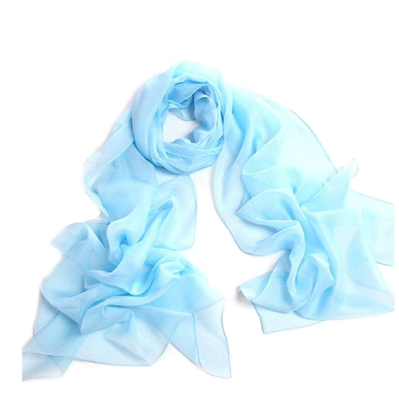c52e4ebe7 Silk Scarf Square Scarf for Hair Women-Pantonight 100% Pure Silk ...