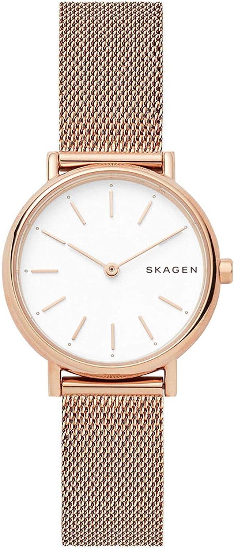 Skagen Reloj Analogico para Mujer de Cuarzo con Correa en Acero Inoxidable SKW2694