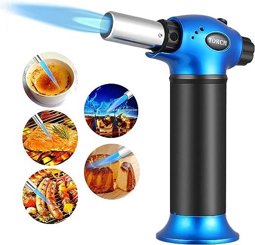 Compra VOOKI Soplete de Cocina con Gas butano y Encendedor de ...