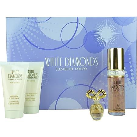 Elizabeth Taylor White Diamonds Women 4 Piece Set