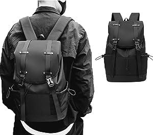ARSONWIN Travel Laptop Backpack Waterproof Weekender Backpack with Drawstring Closure School Backpacks for Men Women