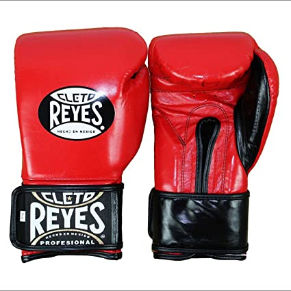 0a587766823 Cleto Reyes Hook   Loop Boxing Training Extra Padding Gloves (Red - Extra  Padding