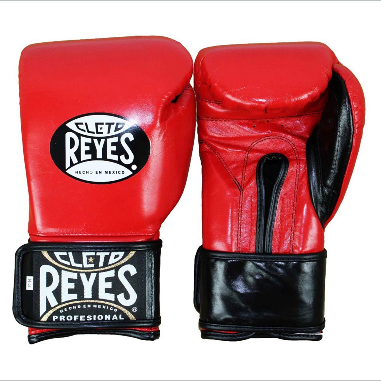 Cleto Reyes Hook & Loop Boxing Training Extra Padding Gloves (Red, 14 oz.)