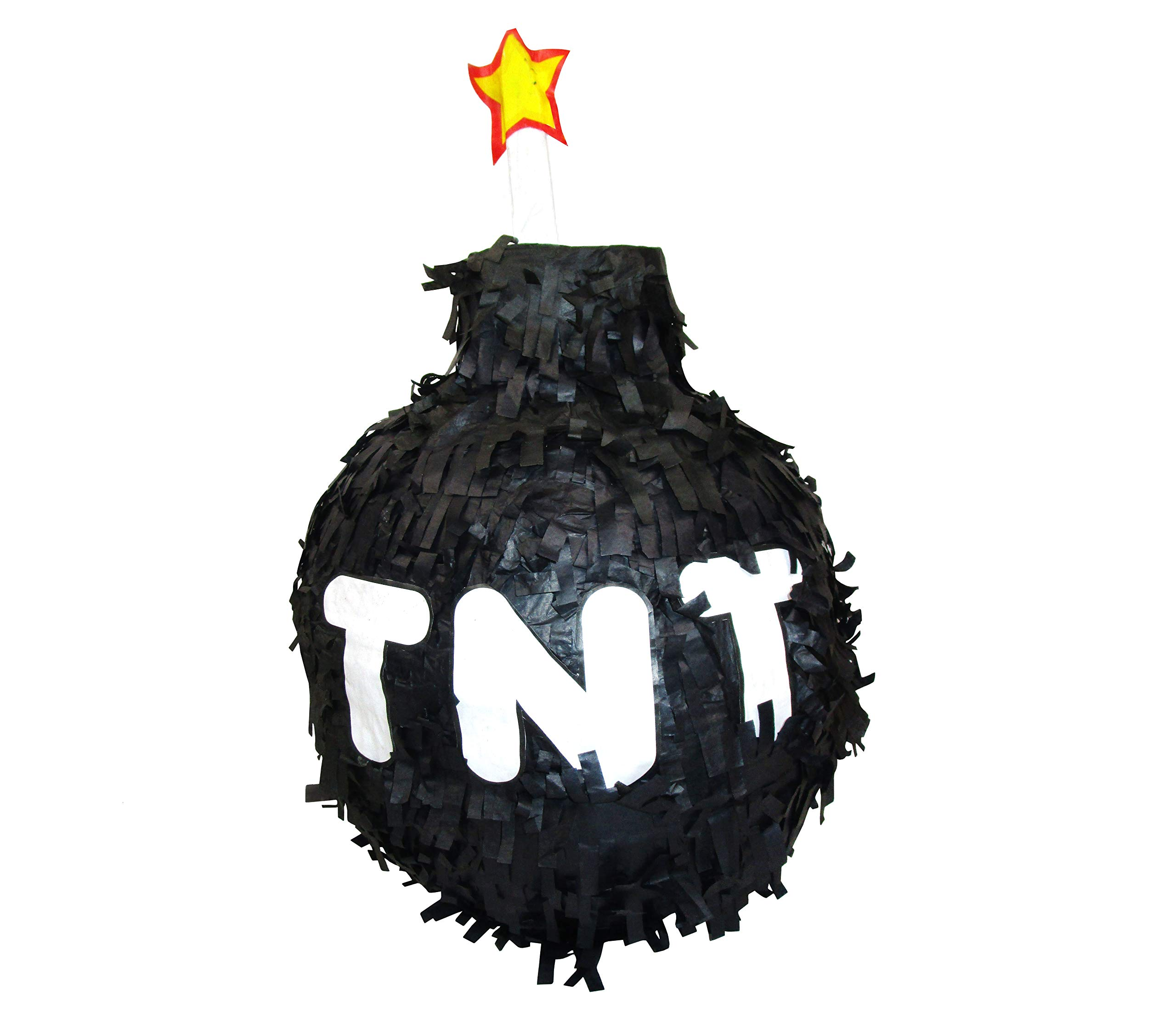 Large TNT Bomb Pinata, Party Game, Birthday Decoration, Photo Prop and Gamers Collectible