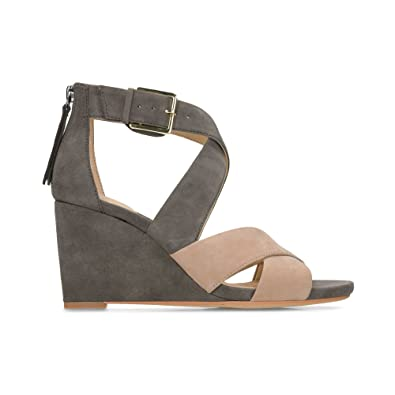 10cf2855da09 Clarks Ysabelle Jules Suede Sandals in Taupe Combi Standard Fit Size 3½