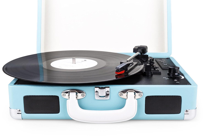 Portátil Diseño Retro Tocadiscos