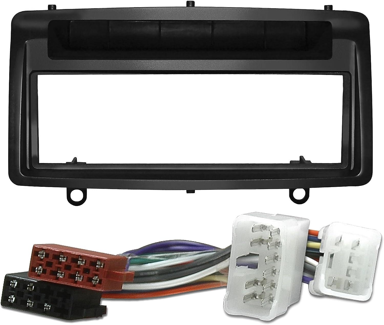 Watermark 6117 wM-wM 1172 autoradio avec fa/çade dautoradio c/âble adaptateur-noir