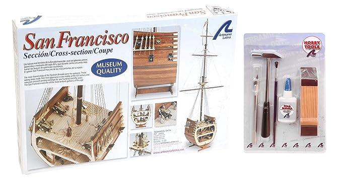 Artesania Latina 20403. Maqueta de barco en madera. Seccion ...