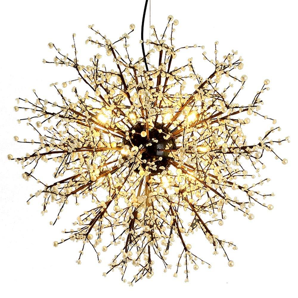 1PCSヴィラ照明ホテルライト家庭用ライト北欧レトロ風ワインバー衣料品店コーヒールームリビングルーム産業風ペンダントライト花火田舎のランプWL7191543PY B07GTYL7KQ