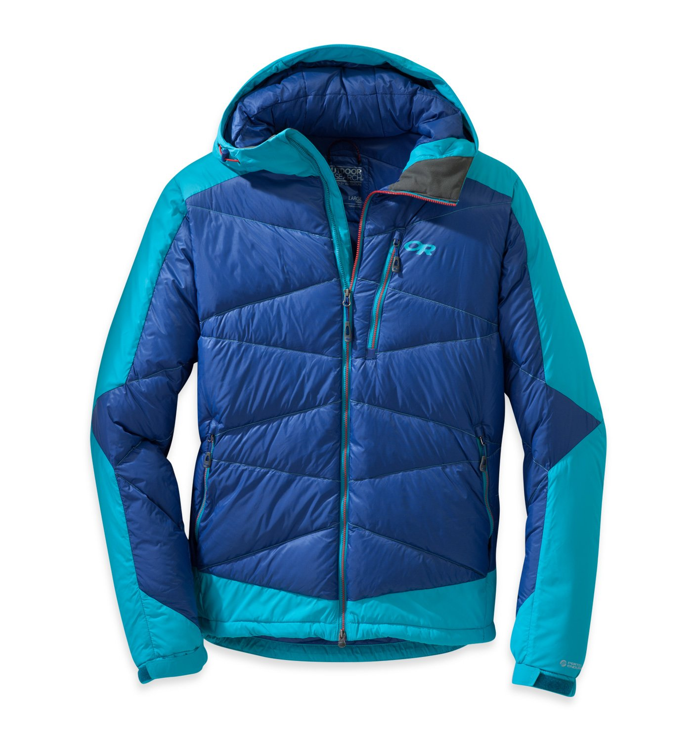 Outdoor Research Diode Hooded Jacket baltic typhoon XL