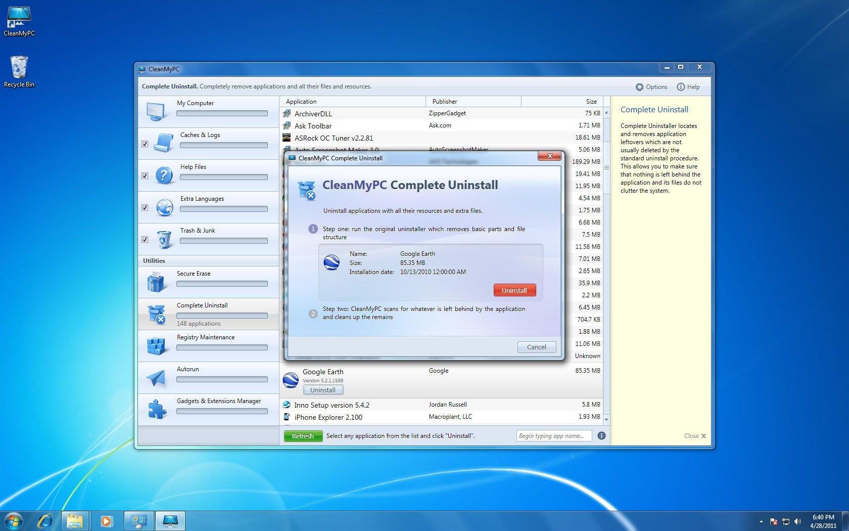 CleanMyPC, Lifetime License [Download] by Digital Aurum