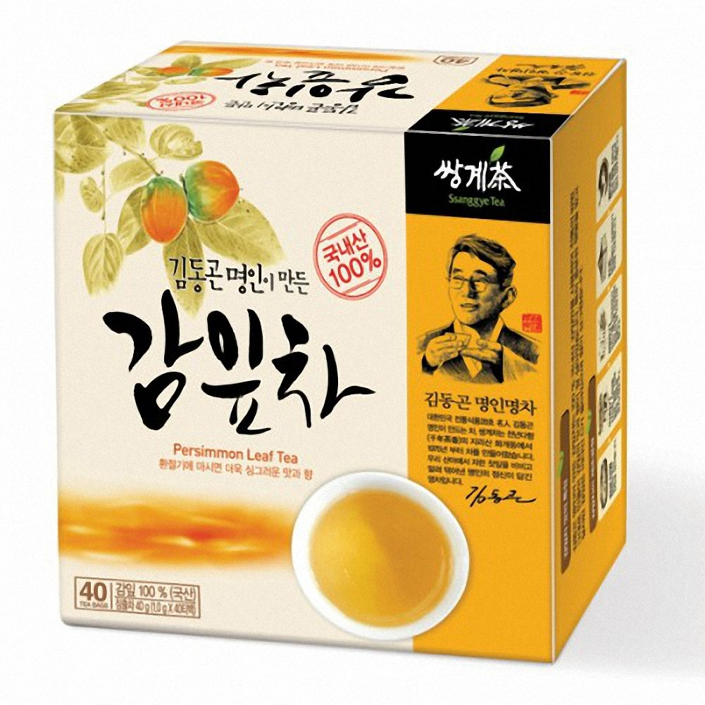 Ssanggye Tea Persimmon Leaf Tea 1g X 40 Tea Bags