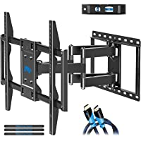Mounting Dream TV Mount for Most 42-70 inch Flat Screen TVs Up to 100 lbs, Full Motion TV Wall Mount with Swivel…