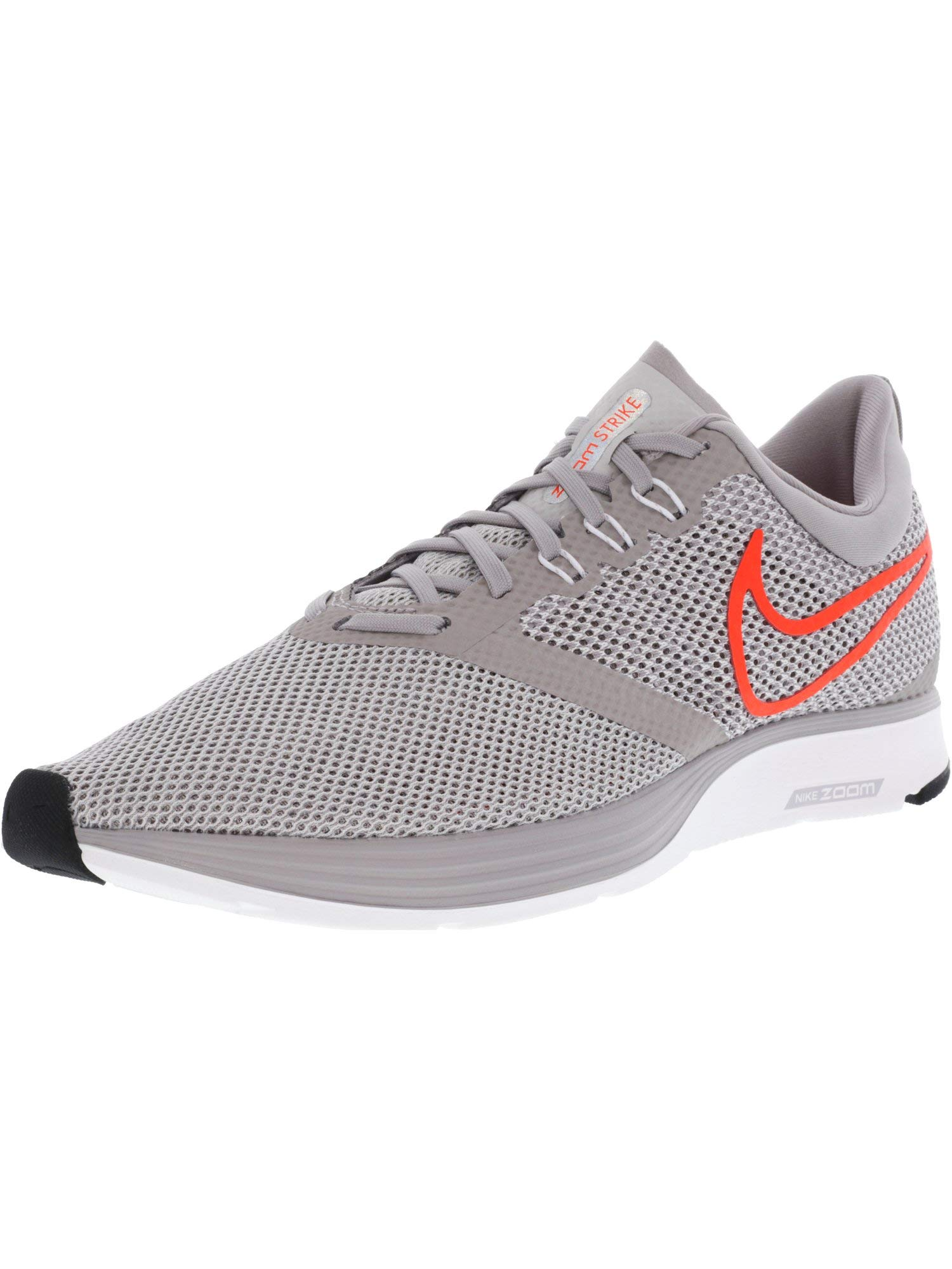 67b75f2325b3 Galleon - Nike Men s Zoom Strike Atmosphere Grey Total Crimson Ankle-High  Mesh Running Shoe - 12M