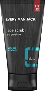 product image for Every Man Jack Face Scrub, Natural Menthol, 5 Fluid Ounces