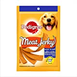 Pedigree Meat Jerky Stix Adult Dog Treats, Barbeque Chicken, 80 g Pouch