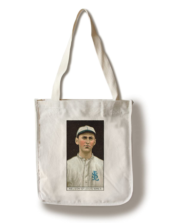 セントルイスBrowns – レッドNelson – 野球カード Canvas Tote Bag LANT-23100-TT B018417QLC  Canvas Tote Bag