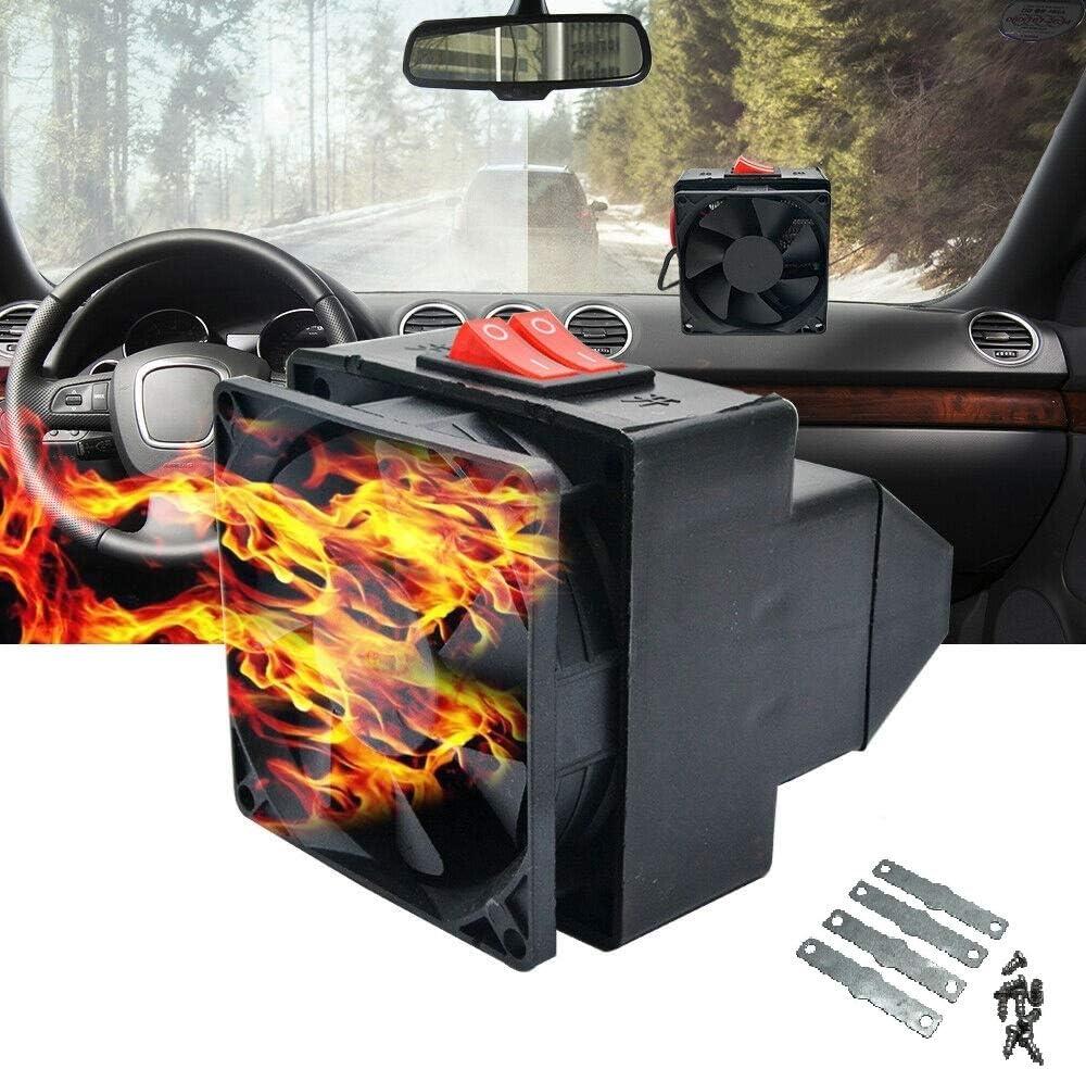 Portable Car Heater MASO 12V 300W 2 in 1 Fast Heating /& Cooling Fan Defrost for Automobile Windscreen Defog /& Keeping Warm