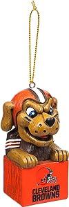 Team Sports America 3OT3807MAS Cleveland Browns Mascot Ornament