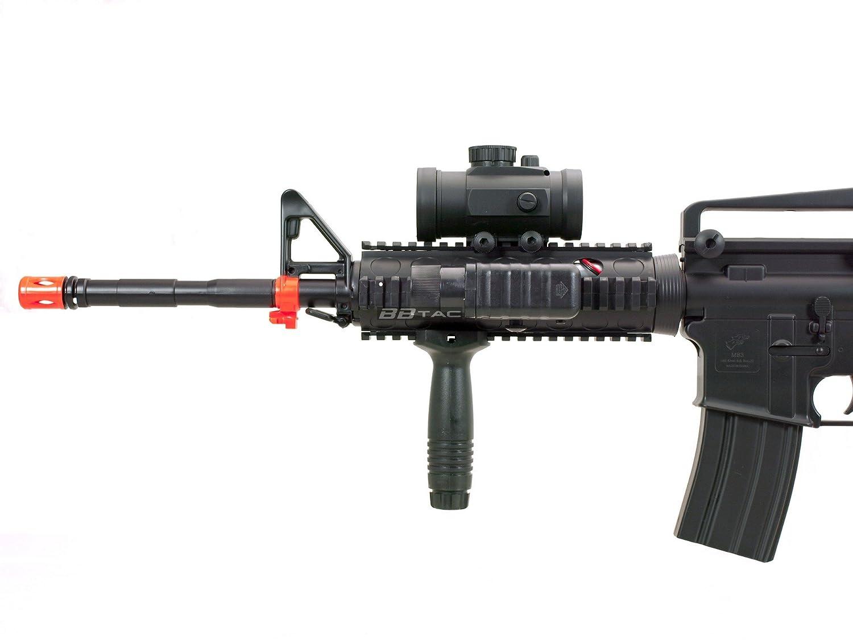 BBTac BT-M83 LPEG Full Auto Electric Power 250 FPS AEG Airsoft Gun with 20,000 .12g BBs 6mm Package