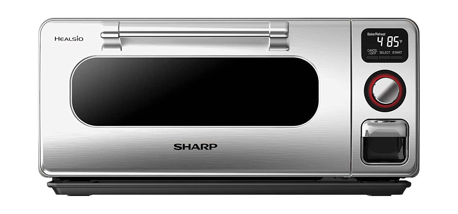 Sharp SSC0586DS Superheated Steam 0.5 Cu.Feet. Countertop Oven Stainless Steel Finish