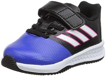 best sneakers fe354 e1f2d adidas RapidaTurf Ace EL I - Botas de fútbolpara niños, Negro - (Negbas