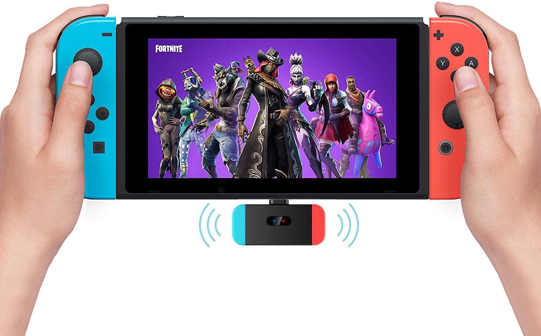 ZeFeng Adaptador de transmisor de audio Bluetooth Tipo-C USB Dongle Bluetooth con aptX Accesorios de juegos de baja latencia Compatible con Bluetooth Auriculares AirPods para Nintendo Switch,Negro: Amazon.es: Videojuegos