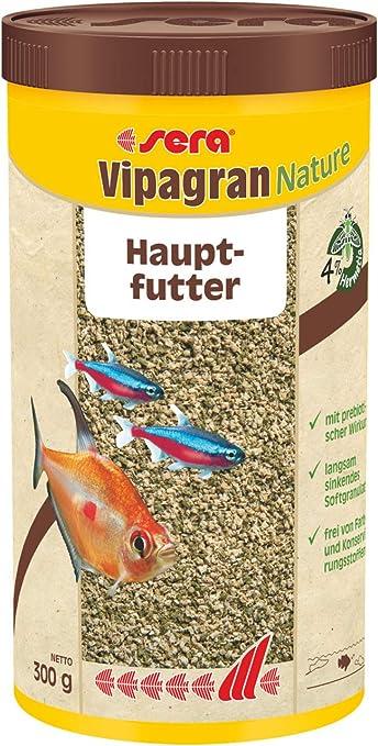 Sera Vipagran, el alimento básico hecho de gránulos blandos ...