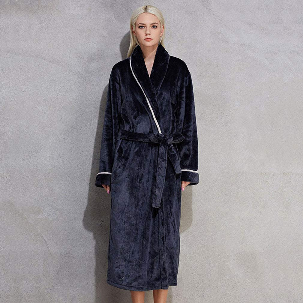Amazon.com  WL Women s Robes Long Soft Warm Full Length Pajamas Luxury  Plush Winter Ladies Robes 46afdb32f